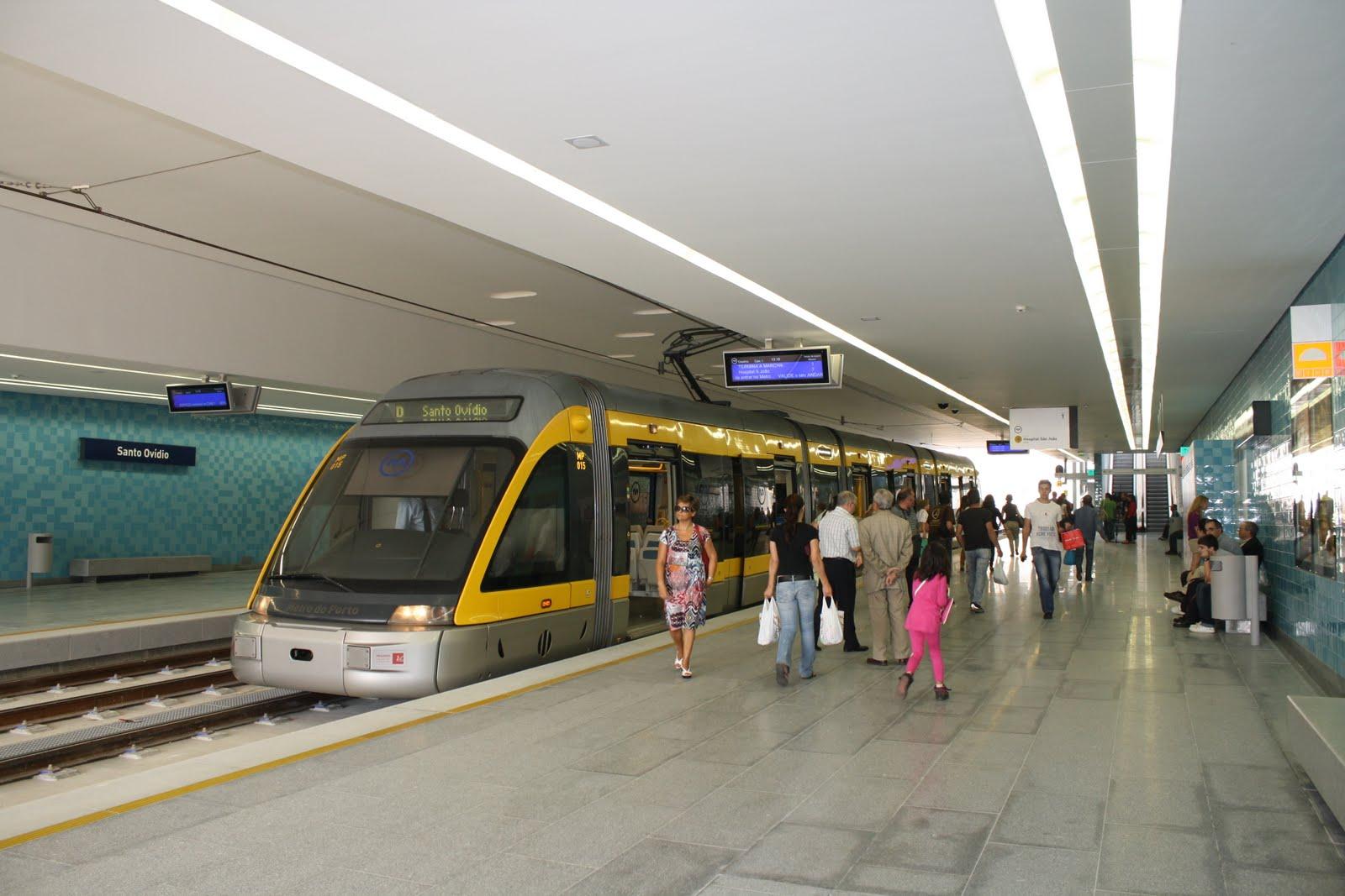 Metro chega a Vila D 'Este em 2021 e custa 106 milhões de euros