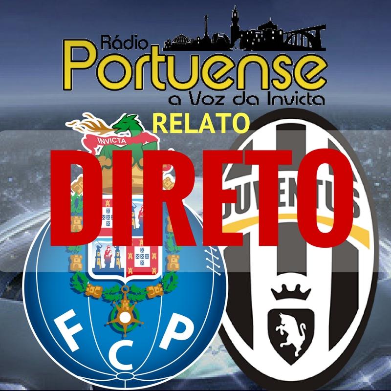 DIRETO – HOJE 19:45 – FC PORTO X JUVENTUS
