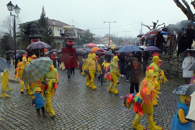 Carnaval com muita chuva e frio…