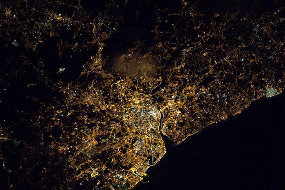 Astronauta partilha fotografia do Porto visto do espaço