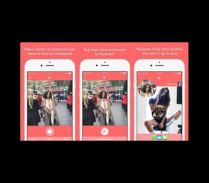 Esta app permite encontrar estranhos no Facebook. Basta uma fotografia