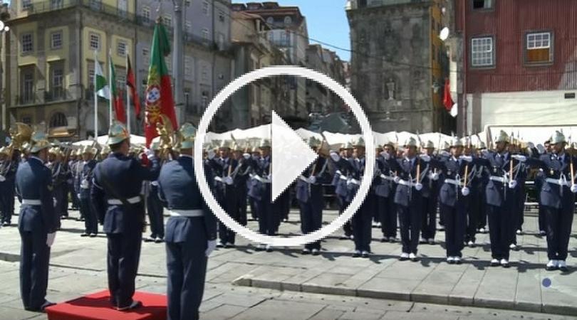 VÍDEO – Sapadores do Porto juraram seu compromisso de honra