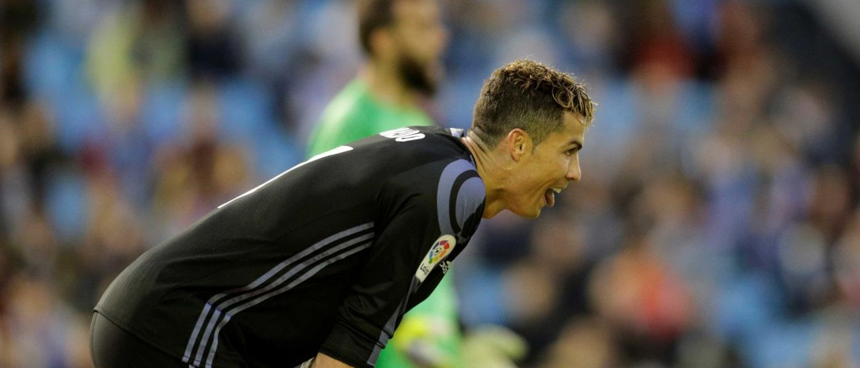 Ronaldo terá acusado os jogadores do Celta de estarem 'comprados'