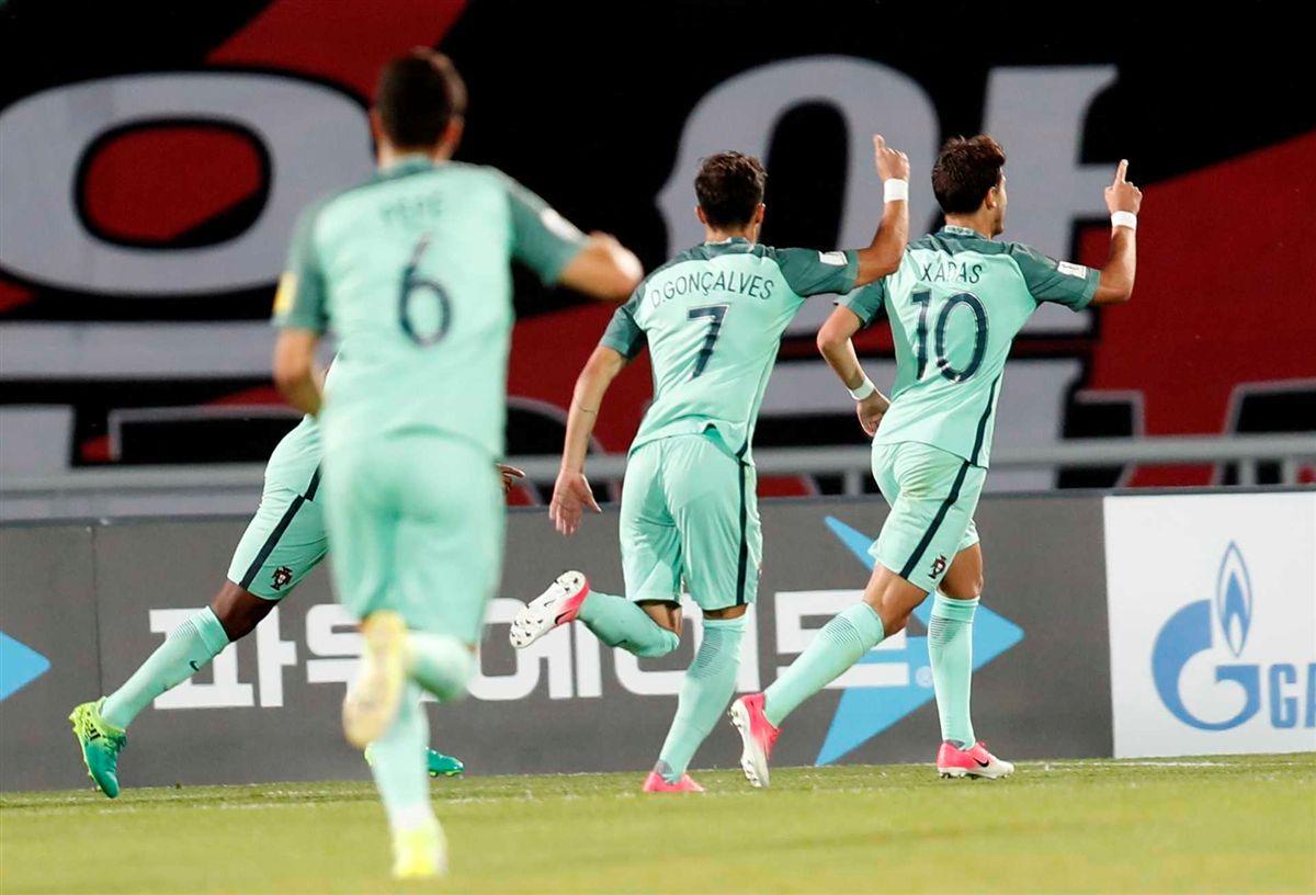 Portugal nos quartos de final do Mundial sub-20