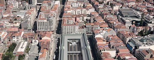 Rua de Fernandes Tomás reaberta: Conclusão das obras no subsolo do Mercado do Bolhão