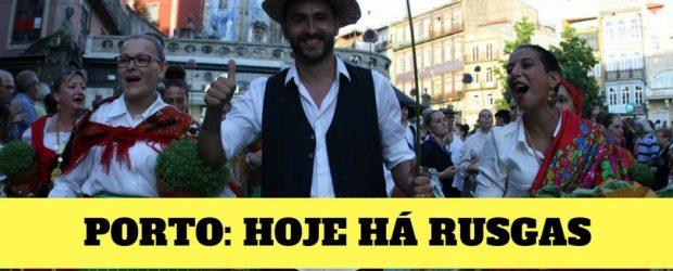 HOJE HÁ RUSGAS NO PORTO