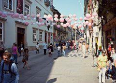 Rua das Flores – História