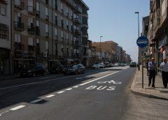 Corredores BUS de Fernão Magalhães e Rua João Pedro Ribeiro renovados