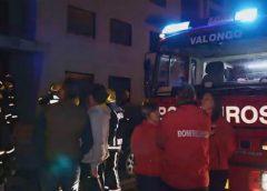 ▶️ Vídeo: Incêndio desalojou sete moradores em Valongo