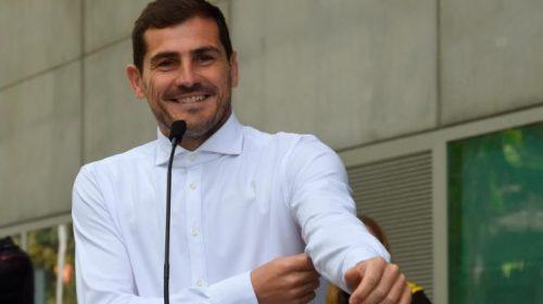 Iker Casillas de regresso aos passeios no porto